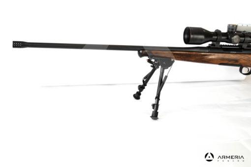 Carabina Bolt Action Roessler modello Titan 6 Exklusive calibro 7 Remington Magnum lato Zeiss