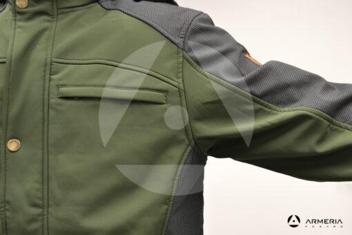 Giacca RS Hunting LV135 in softshell - taglia XL macro