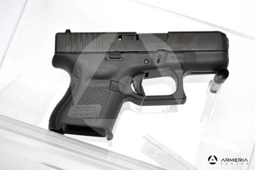 """Pistola semiautomatica Glock modello 26 Gen 5 calibro 9x21 canna 3,5"""" lato"""
