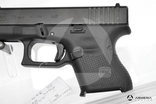 """Pistola semiautomatica Glock modello 26 Gen 5 calibro 9x21 canna 3,5"""" modello"""