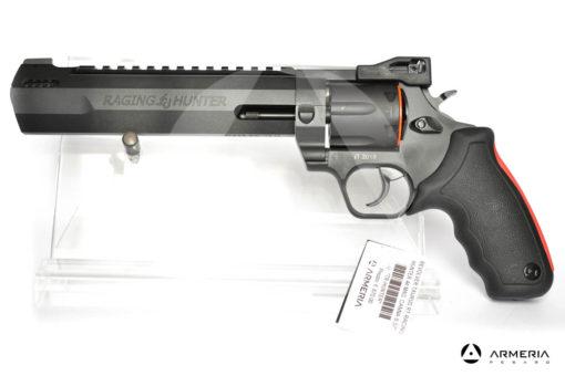 Revolver Taurus modello Racing Hunter canna 8.37 calibro 44 Remington Magnum lato