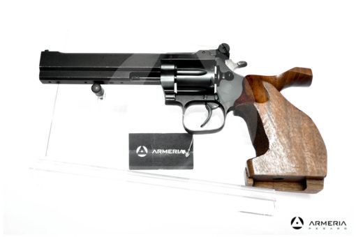 Revolver Gamba modello Trident Match 900 canna 6 calibro 38 SPL lato