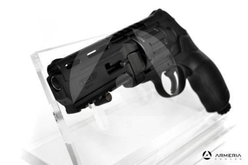 """Revolver Umarex T4E modello HDR 50 canna 3"""" calibro 50 ad aria compressa mirino"""