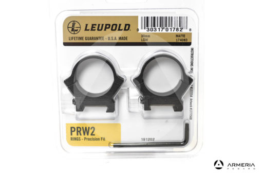Supporti ad anello Leupold PRW2 Precision fit slitta Weaver - 30 mm low matte #174083