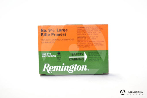 Inneschi Remington Large Rifle Primers numero 9 1/2 - 100 pezzi