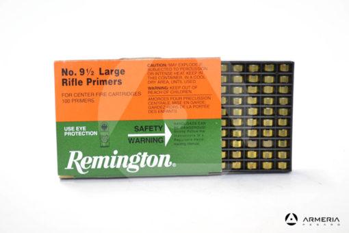 Inneschi Remington Large Rifle Primers numero 9 1/2 - 100 pz