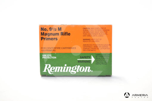 Inneschi Remington Magnum Rifle Primers numero 9 1/2 M - 100 pezzi
