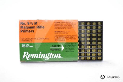 Inneschi Remington Magnum Rifle Primers numero 9 1/2 M - 100 pz