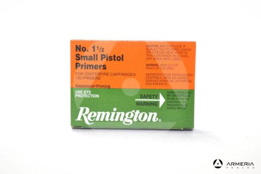 Inneschi Remington Small Pistol Primers numero 1 1/2 - 100 pezzi