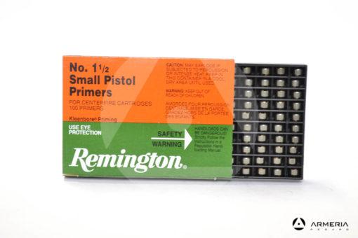Inneschi Remington Small Pistol Primers numero 1 1/2 - 100 pz