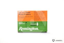 Inneschi Remington Small Pistol Primers numero 5 1/2 - 100 pezzi