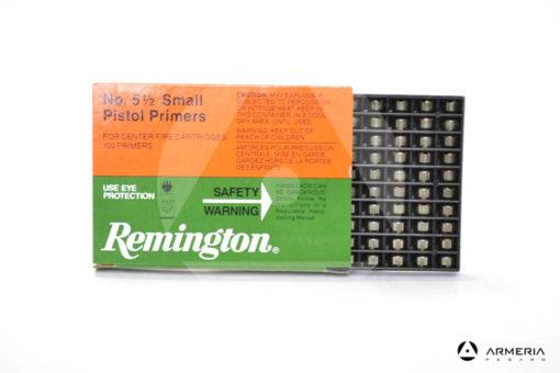 Inneschi Remington Small Pistol Primers numero 5 1/2 - 100 pz