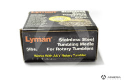 Lyman Stainless Steel Tumbling Media 5lbs per Rotary 7631375