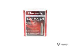 Palle ogive Hornady ELD Match calibro 338 - 285 grani - 50 pezzi #33381