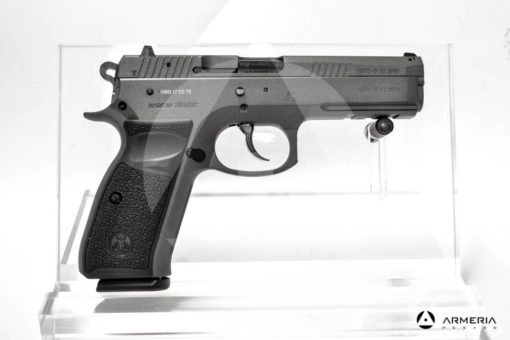 """Pistola semiautomatica Canik modello P120 Tungsten calibro 9x21 Sportiva - Canna 5"""" lato"""