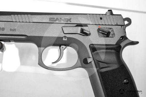 """Pistola semiautomatica Canik modello P120 Tungsten calibro 9x21 Sportiva - Canna 5"""" mod"""