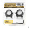 "Supporti ad anello Leupold PRW2 Precision fit slitta Weaver 1"" low matte #174079"