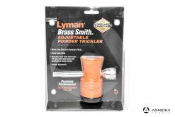 Centellinatore Lyman Brass Smith Adjustable Powder Trickler #7752500