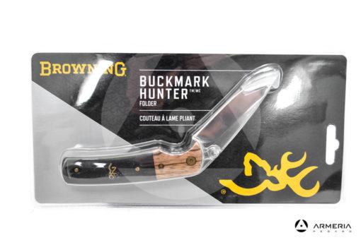 Coltello Browning Buckmark Hunter a lama pieghevole 7.62 cm