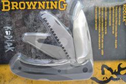 Coltello svizzero Browning Kodiak multi accessori lama 9 cm macro