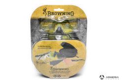 Kit 2 Occhiali tattici da tiro protettivi Browning Claybuster + 2 lenti