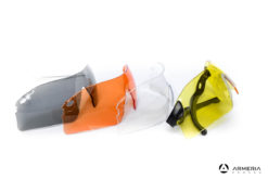 Kit 2 Occhiali tattici da tiro protettivi Browning Claybuster + lenti