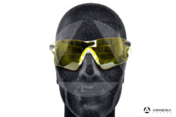 Occhiali tattici da tiro protettivi Browning Claybuster Gialli