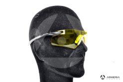 Occhiali tattici da tiro protettivi Browning Claybuster - Gialli