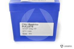 Palle Frontier CMJ Restrike calibro 9mm - 124 grani FP - 1000 pezzi