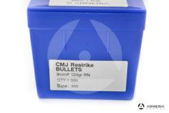 Palle Frontier CMJ Restrike calibro 9mm - 124 grani RN - 1000 pezzi