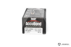 Palle ogive Nosler Accubond calibro 7mm Spitzer - 150 grani 50 pezzi #54951