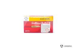 Sellier & Bellot 1380 calibro 223 Rem 69 grani HPBT - 20 cartucce
