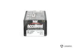Palle ogive Nosler AccuBond calibro 270 - 150 grani - 50 pz #54801