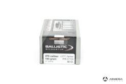 Palle ogive Nosler Ballistic Silver Tip calibro 270 - 150 grani - 50 pz #51100