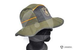 Cappello berretto Trabaldo Missouri Orange caccia taglia L lato