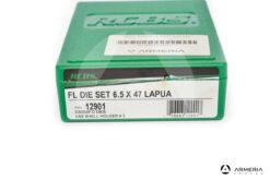 Dies RCBS FL Dies Set calibro 6.5x47 Lapua - Gruppi D - #12901
