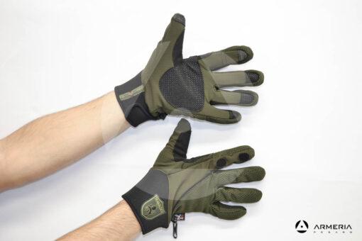 Guanti antivento traspiranti Trabaldo Snake Pro taglia XL