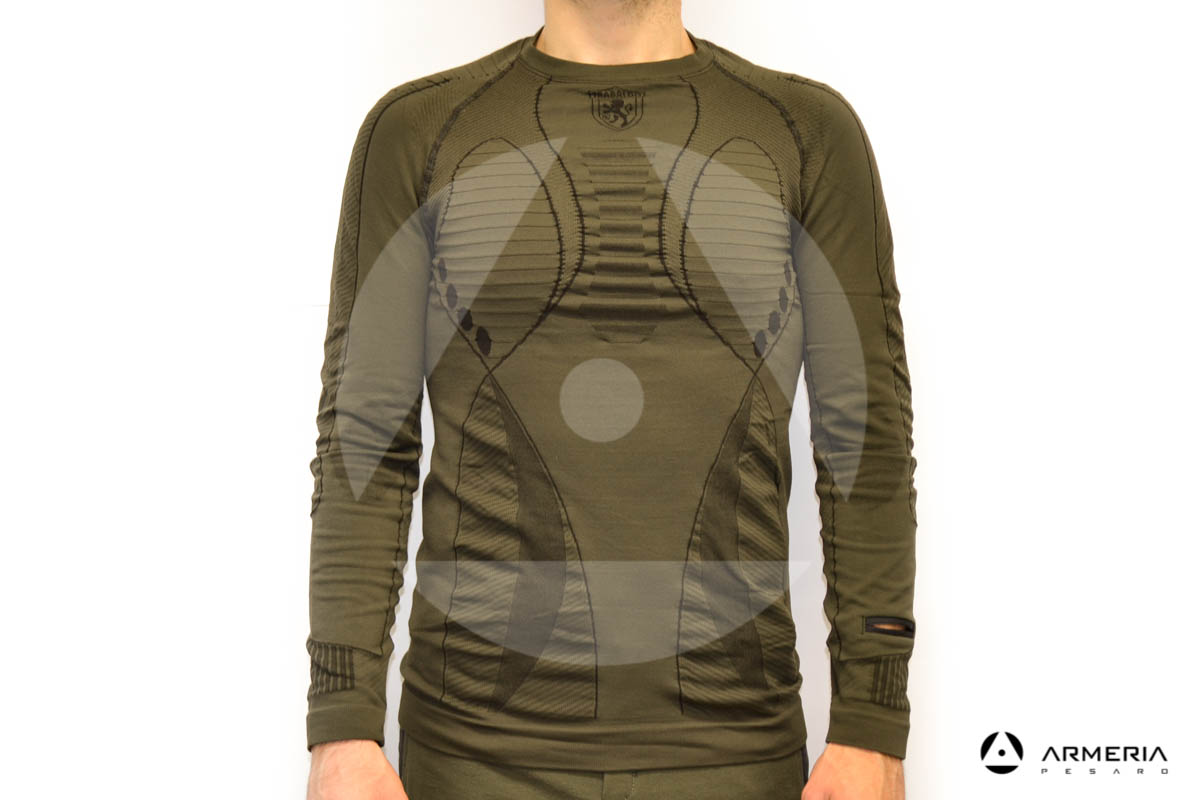 Evolution Mimetico Base Strato Armatura Top Manica Lunga Tiro T-Shirt