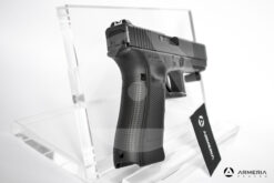 Pistola semiautomatica Glock modello 17 FS Gen 4 calibro 9x21 canna 5 retro