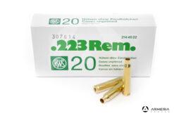 Bossoli RWS calibro 223 Rem – 20 pezzi #2144522