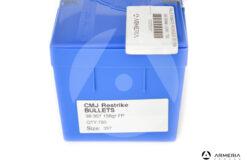 Palle Frontier CMJ Restrike calibro 38-357 158 grani FP - 750 pezzi