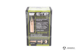Palle Nosler Expansion Tip E-Tip calibro 30-30 150 grani #59451 50 pezzi