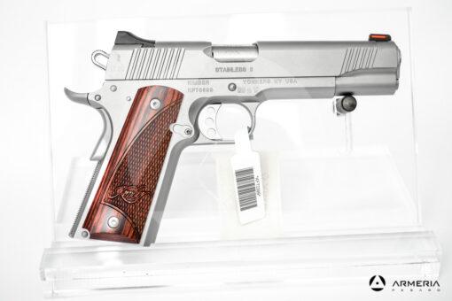 Pistola semiautomatica Kimber modello Stainless calibro 9x21 Canna 5 lato