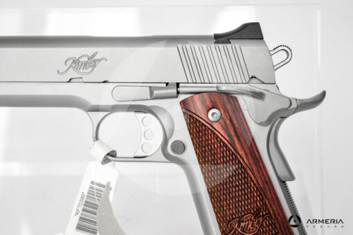Pistola semiautomatica Kimber modello Stainless calibro 9x21 Canna 5 fusto