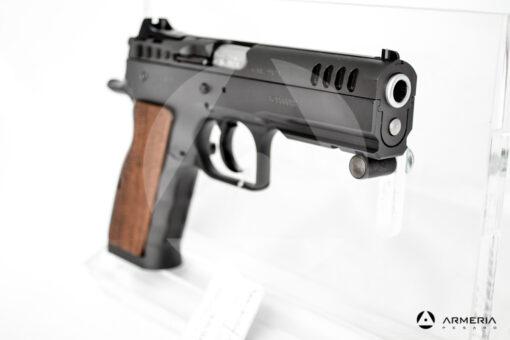 Pistola semiautomatica Tanfoglio modello Stock I calibro 9x21 Canna 5 mirino