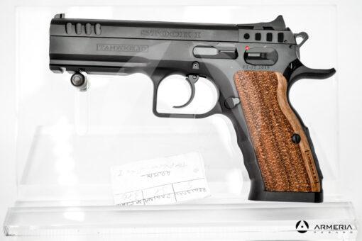 Pistola semiautomatica Tanfoglio modello Stock I calibro 9x21 Canna 5 lato