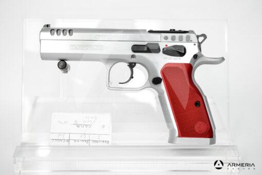 Pistola semiautomatica Tanfoglio modello Stock II Optic calibro 9x21 Canna 5