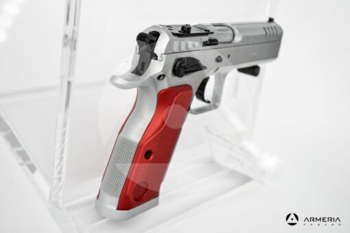 Pistola semiautomatica Tanfoglio modello Stock II Optic calibro 9x21 Canna 5 calcio
