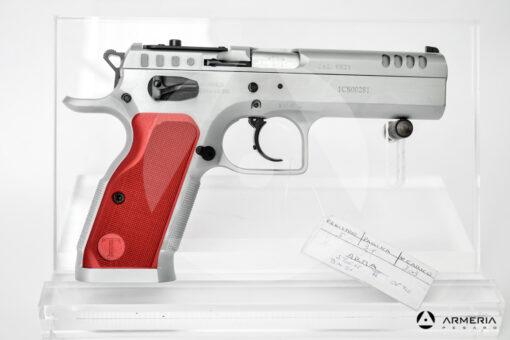 Pistola semiautomatica Tanfoglio modello Stock II Optic calibro 9x21 Canna 5 lato