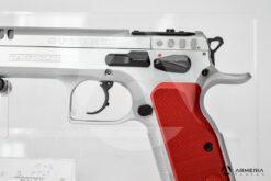 Pistola semiautomatica Tanfoglio modello Stock II Optic calibro 9x21 Canna 5 fusto